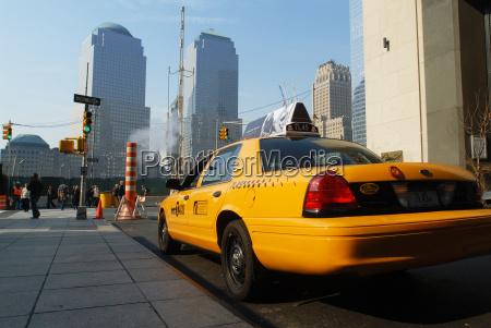 taxi taksowka transport mainhattan taxe nyc